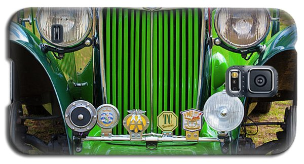 Galaxy S5 Case featuring the photograph Green 1948 Mg Tc by Chris Dutton