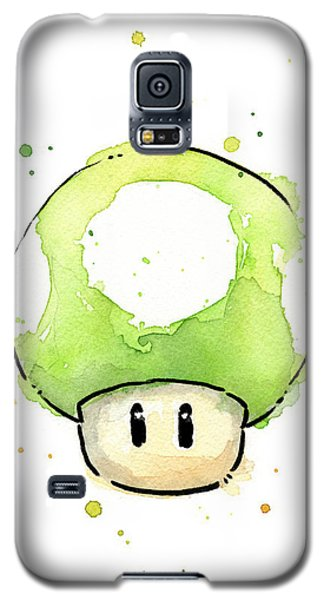 Green 1up Mushroom Galaxy S5 Case