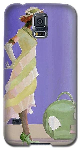 Green Galaxy S5 Case