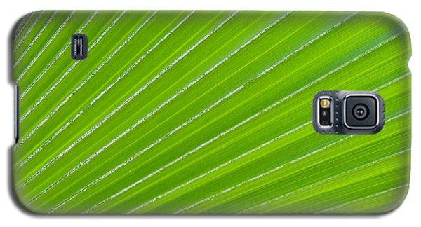 Green Abstract No. 1 Galaxy S5 Case