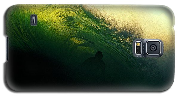 Green And Black Galaxy S5 Case