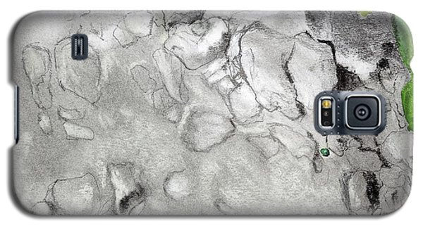 Green And Gray Stones Galaxy S5 Case