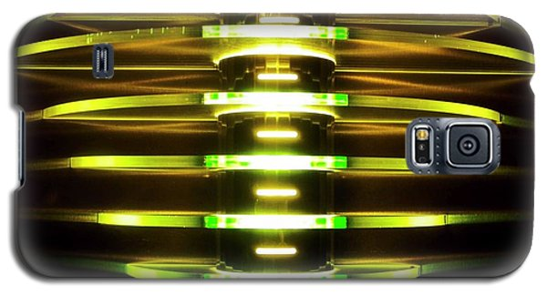 Green And Yellow Light Reflectors Galaxy S5 Case