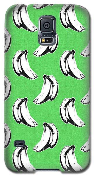 Green Bananas- Art By Linda Woods Galaxy S5 Case by Linda Woods