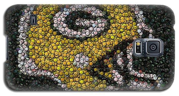 Green Bay Packers Bottle Cap Mosaic Galaxy S5 Case