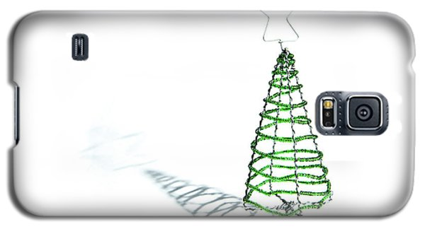 Green Bead Christmas Tree II Galaxy S5 Case
