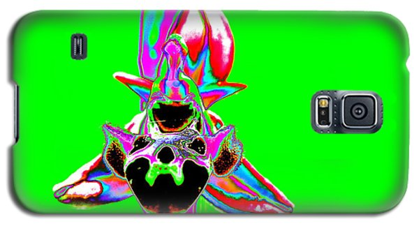 Green Bee Orchid Galaxy S5 Case