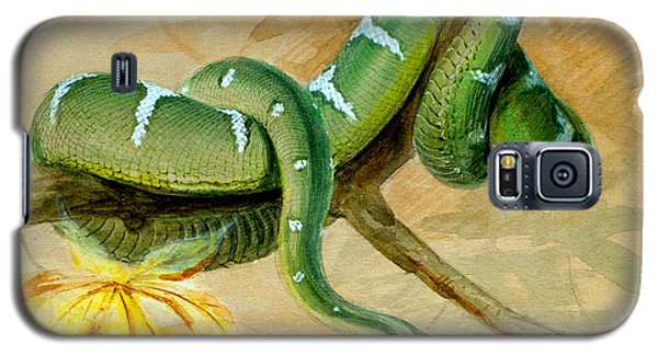 Green Boa Galaxy S5 Case