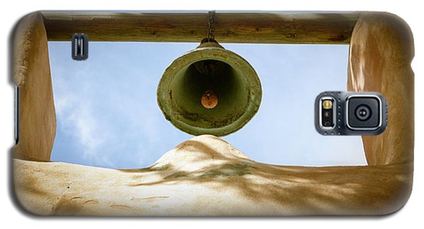 Galaxy S5 Case featuring the photograph Green Church Bell by Marilyn Hunt