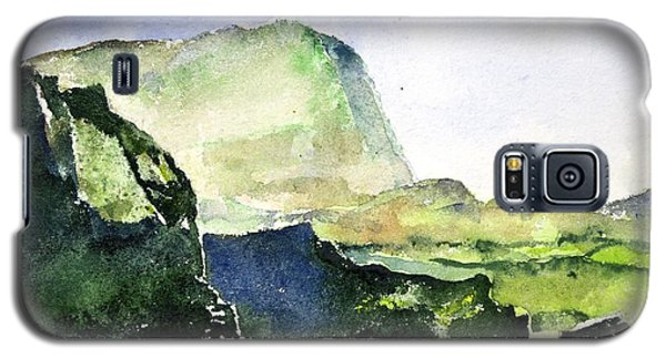 Green Cliffs And Sea Galaxy S5 Case