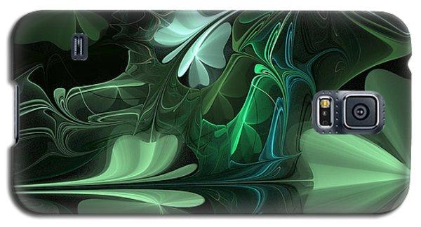 Green Clover Field Galaxy S5 Case