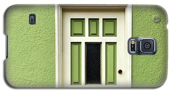 Galaxy S5 Case - Green Door Detail by Julie Gebhardt