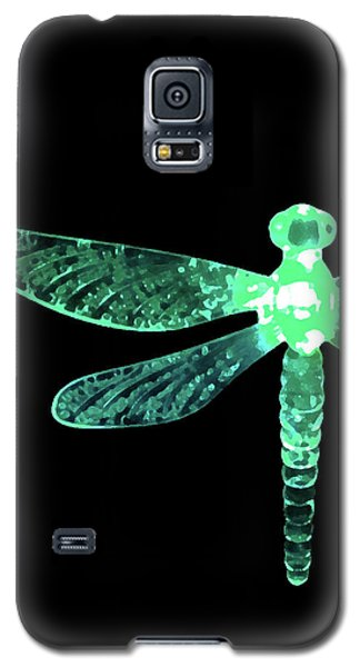 Green Dragonfly Galaxy S5 Case