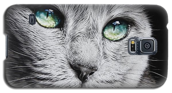 Green-eyed Diva Galaxy S5 Case