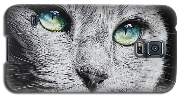 Green-eyed Diva Galaxy S5 Case
