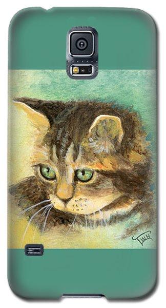Green Eyes Galaxy S5 Case by Terry Webb Harshman