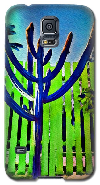 Green Fence Galaxy S5 Case