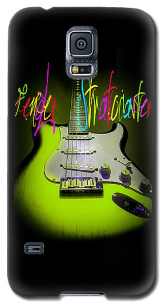 Green Stratocaster Guitar Galaxy S5 Case