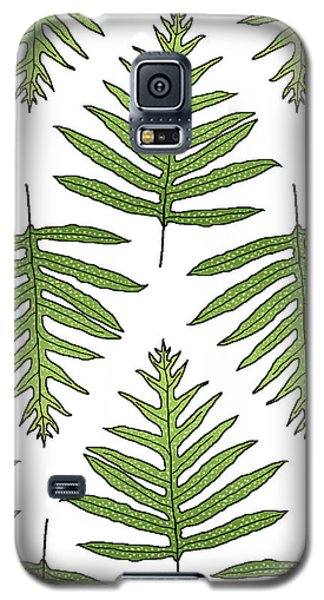 Green Fern Array Galaxy S5 Case