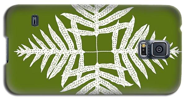 Green Fern Diamond Galaxy S5 Case