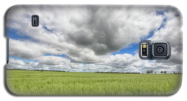 Galaxy S5 Case featuring the photograph Green Fields 2 by Douglas Barnard