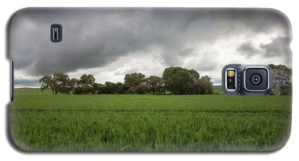Galaxy S5 Case featuring the photograph Green Fields 5 by Douglas Barnard