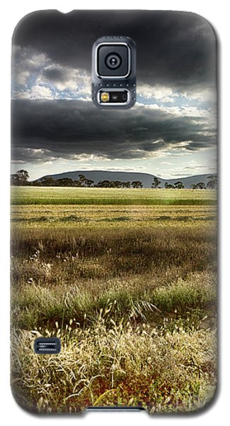 Galaxy S5 Case featuring the photograph Green Fields 6 by Douglas Barnard