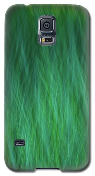 Green Fire 1 Galaxy S5 Case