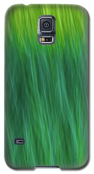 Green Fire 4 Galaxy S5 Case