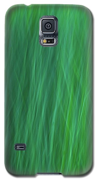 Green Fire 6 Galaxy S5 Case
