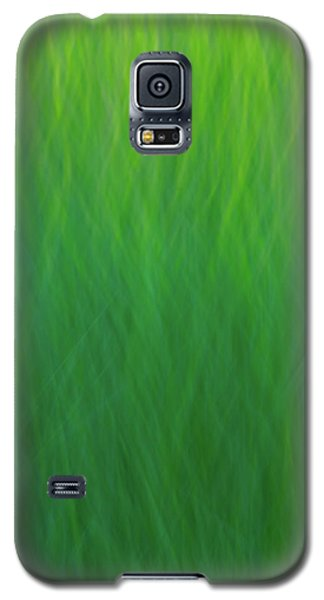 Green Fire 7 Galaxy S5 Case