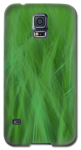 Green Fire 8 Galaxy S5 Case