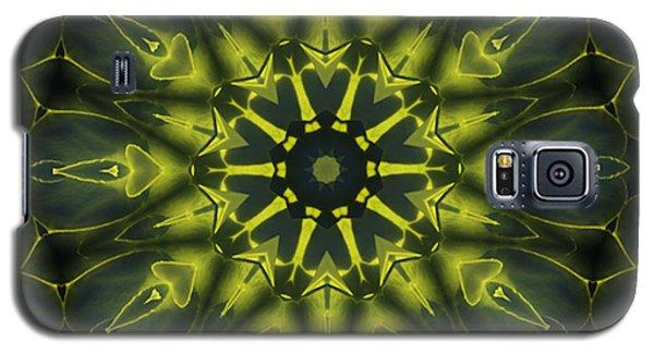 Succulent Mandala Galaxy S5 Case by Yulia Kazansky