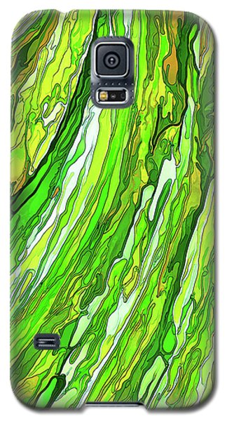 Green Garden Galaxy S5 Case by ABeautifulSky Photography