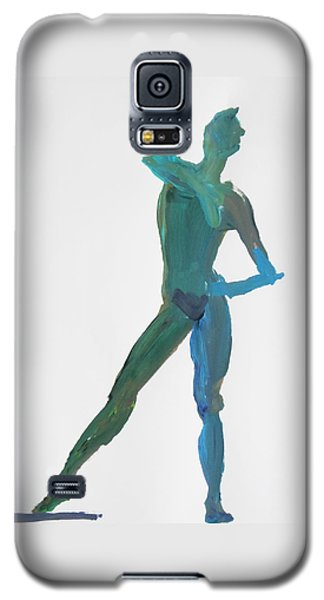 Green Gesture 2 Pointing Galaxy S5 Case by Shungaboy X