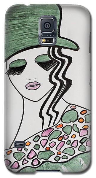 Green Hat Galaxy S5 Case
