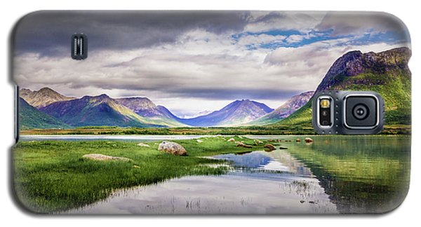 Green Hills Of Vesteralen Galaxy S5 Case