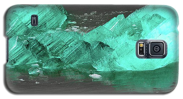Green Iceberg Galaxy S5 Case