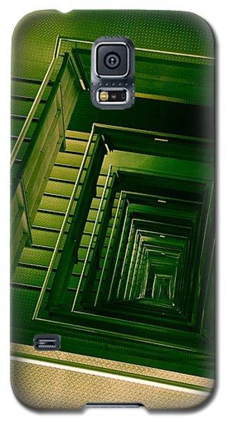Green Infinity Galaxy S5 Case