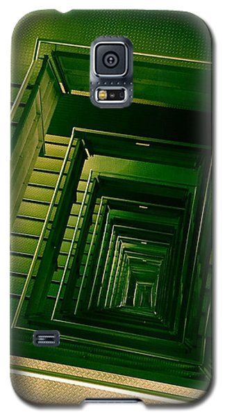 Green Infinity Galaxy S5 Case