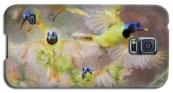 Green Jay Collage Galaxy S5 Case