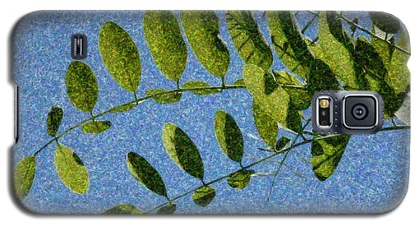 Green Leaves 2 Galaxy S5 Case