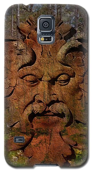 Green Man Of The Forest 2016 Galaxy S5 Case