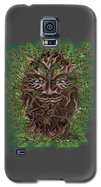 Green Man Of The Forest Galaxy S5 Case