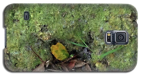 Green Man Spirit Photo Galaxy S5 Case