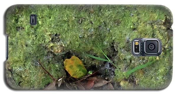 Green Man Spirit Photo Galaxy S5 Case