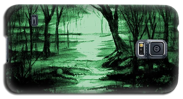 Green Mist Galaxy S5 Case
