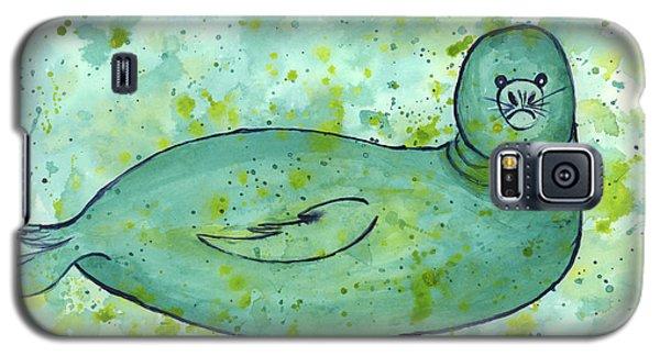 Green Monk Seal Galaxy S5 Case