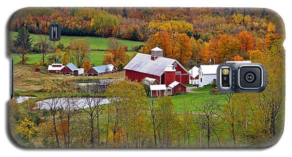 Green Mountain Farm Galaxy S5 Case by Butch Lombardi
