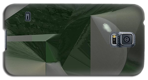 Green N Gray Galaxy S5 Case